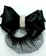 Grace Hairbow & Bun Net NEW