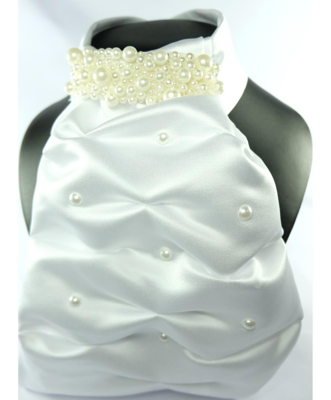 Contessa Pearls Stock/Plastron