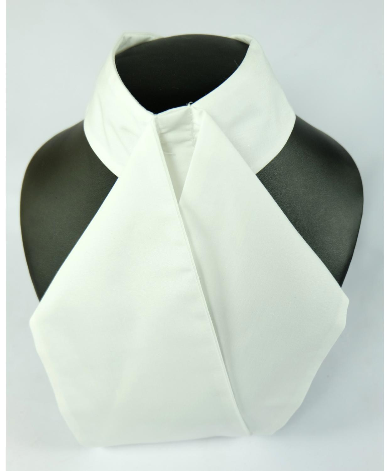 Classic Tied & Untied Stock/Plastron Cotton