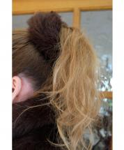 Scrunchie Faux Fur Brown