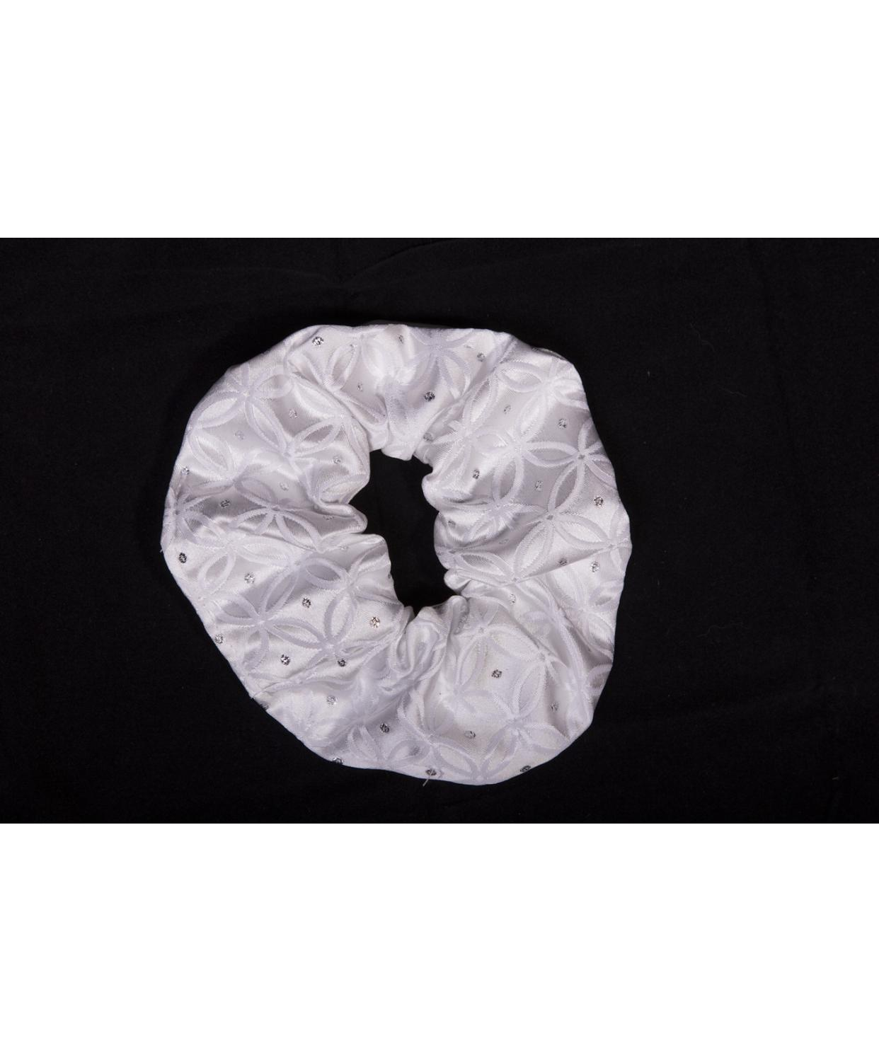 Scrunchie Vintage Cambridge White