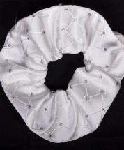 Scrunchie Vintage Samlesbury White