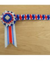 Browband Bespoke Royal Red Pony