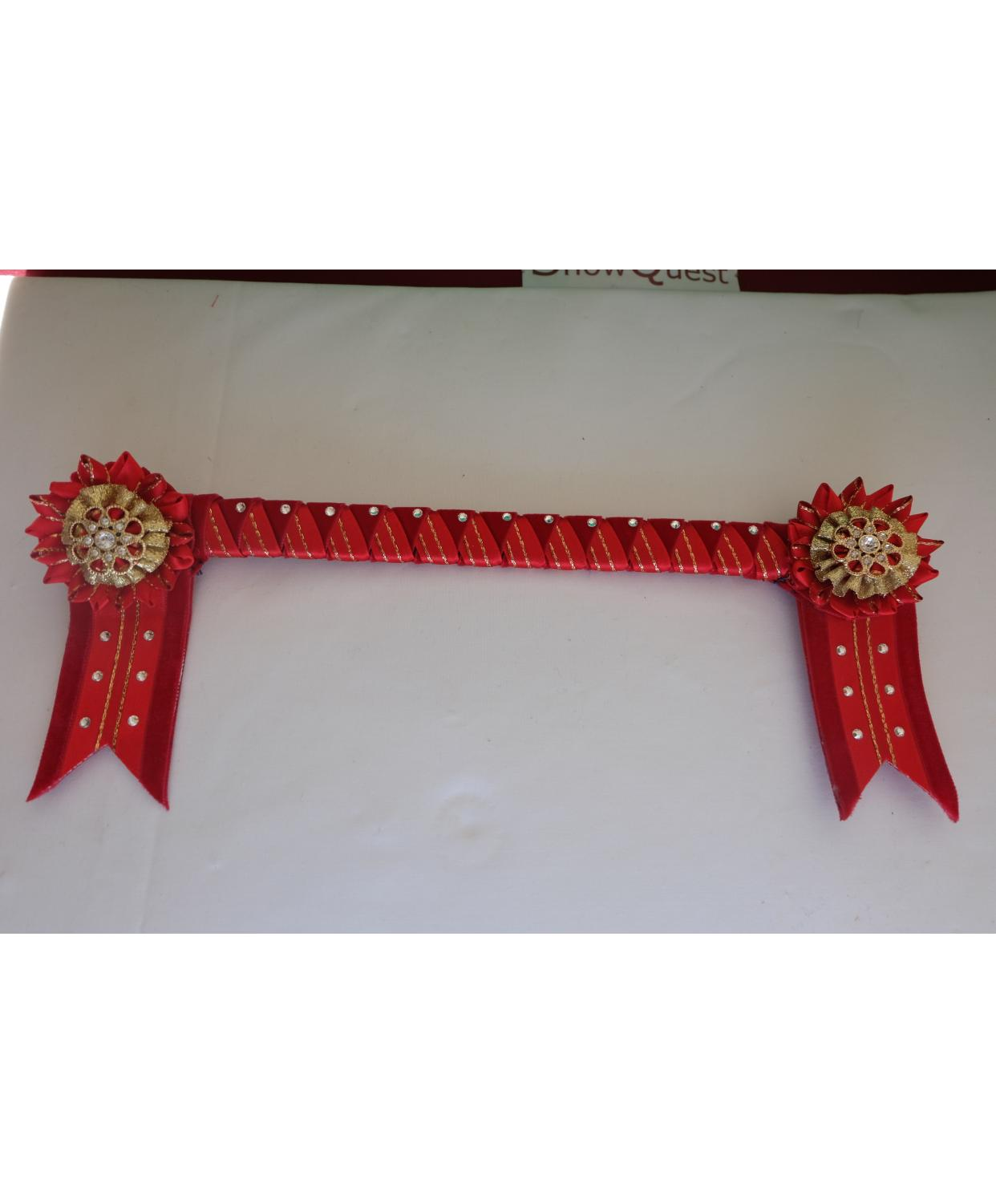 Bespoke Browband Red Pony