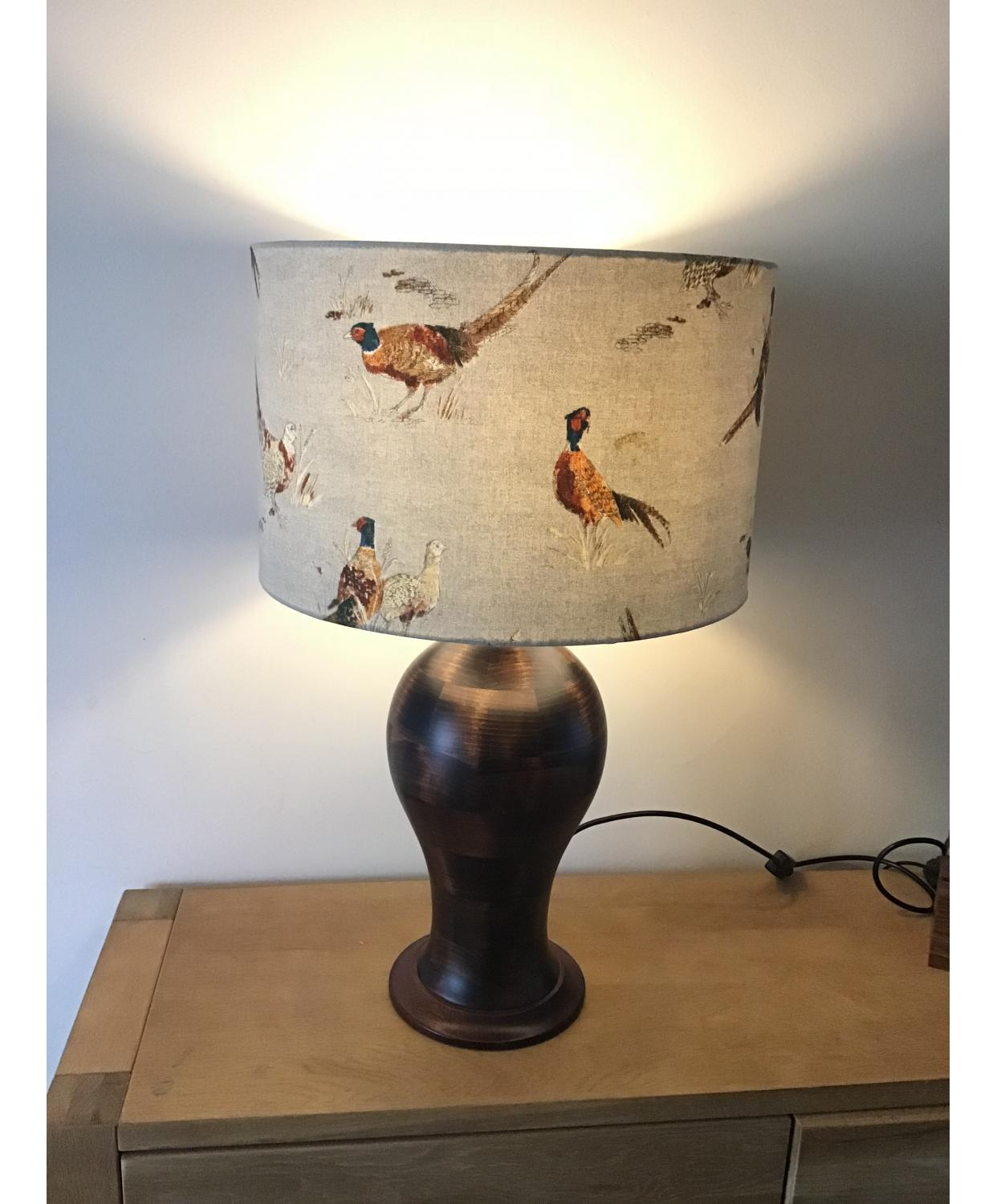 Lamp Shade - Pheasants