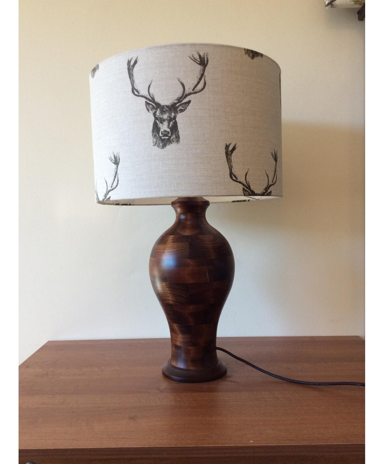 Lamp Shade - Stags Head