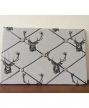 Notice Board Stags Head by JackLanson