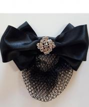 Hairbow with Bun Net Isobella